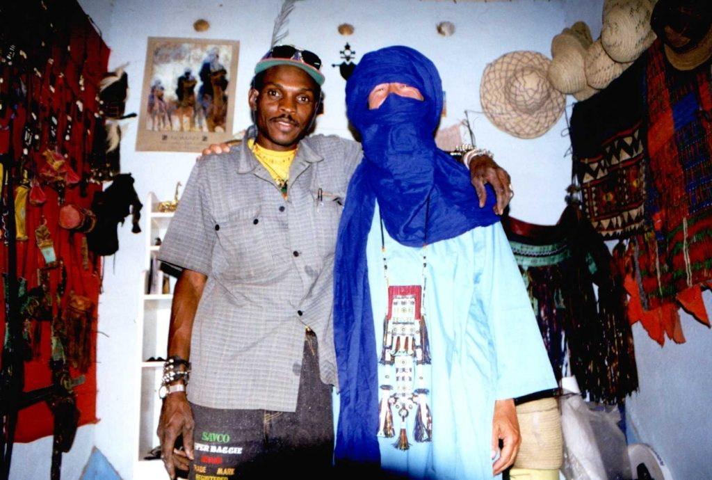 Mohammed and the author in Agadez